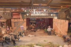 Western Town Blacksmith Shop