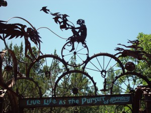 Live Life as the Pursuit of Happiness